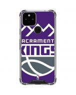 Sacramento Kings Large Logo Google Pixel 5 Clear Case