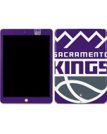 Sacramento Kings Large Logo Apple iPad Skin