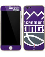 Sacramento Kings Large Logo iPhone 6/6s Skin