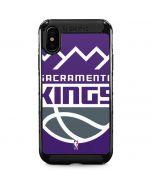 Sacramento Kings Large Logo iPhone XS Max Cargo Case