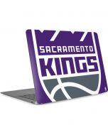 Sacramento Kings Large Logo Apple MacBook Air Skin
