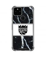 Sacramento Kings Marble Google Pixel 5 Clear Case