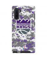 Sacramento Kings Purple Digi Camo Galaxy Note 10 Pro Case