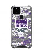 Sacramento Kings Purple Digi Camo Google Pixel 5 Clear Case