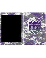 Sacramento Kings Purple Digi Camo Apple iPad Skin