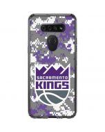 Sacramento Kings Purple Digi Camo LG K51/Q51 Clear Case