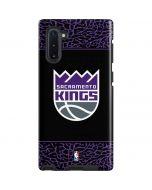 Sacramento Kings Purple Elephant Print Galaxy Note 10 Pro Case