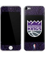 Sacramento Kings Purple Elephant Print Apple iPod Skin