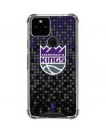 Sacramento Kings Purple Pixels Google Pixel 5 Clear Case