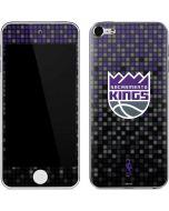 Sacramento Kings Purple Pixels Apple iPod Skin
