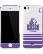 Sacramento Kings Purple Static Apple iPod Skin