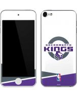 Sacramento Kings White Split Apple iPod Skin