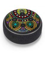 Sacred Wheel Colored Amazon Echo Dot Skin