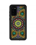 Sacred Wheel Colored Galaxy S20 Waterproof Case