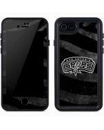 San Antonio Spurs Black Animal Print iPhone 7 Waterproof Case