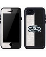 San Antonio Spurs Canvas iPhone 7 Waterproof Case