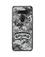 San Antonio Spurs Digi Camo LG K51/Q51 Clear Case