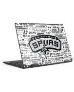 San Antonio Spurs Historic Blast HP Envy Skin
