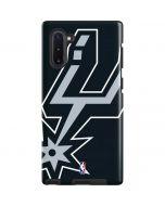 San Antonio Spurs Large Logo Galaxy Note 10 Pro Case