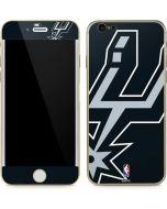 San Antonio Spurs Large Logo iPhone 6/6s Skin
