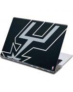 San Antonio Spurs Large Logo Yoga 910 2-in-1 14in Touch-Screen Skin