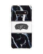 San Antonio Spurs Marble Galaxy S10 Plus Lite Case