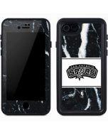 San Antonio Spurs Marble iPhone 7 Waterproof Case