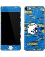 Los Angeles Chargers - Blast Apple iPod Skin