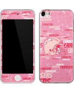 Los Angeles Chargers - Blast Pink Apple iPod Skin