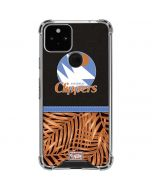 San Diego Clippers Retro Palms Google Pixel 5 Clear Case