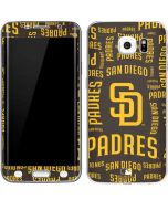 San Diego Padres - Cap Logo Blast Galaxy S6 Edge Skin