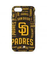 San Diego Padres - Cap Logo Blast iPhone 8 Pro Case