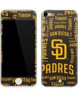 San Diego Padres - Cap Logo Blast Apple iPod Skin