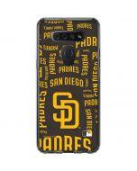 San Diego Padres - Cap Logo Blast LG K51/Q51 Clear Case