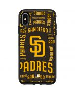San Diego Padres - Cap Logo Blast Otterbox Symmetry iPhone Skin