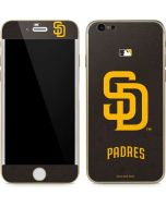San Diego Padres - Solid Distressed iPhone 6/6s Skin