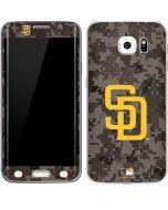 San Diego Padres Camouflage #2 Galaxy S6 Edge Skin
