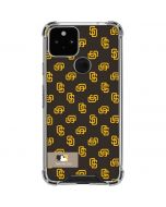 San Diego Padres Full Count Google Pixel 5 Clear Case