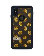 San Diego Padres Full Count iPhone XS Waterproof Case