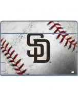 San Diego Padres Game Ball Galaxy Book Keyboard Folio 12in Skin