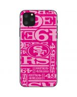San Francisco 49ers - Blast Pink iPhone 11 Pro Max Skin