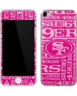 San Francisco 49ers - Blast Pink Apple iPod Skin