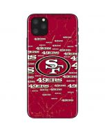 San Francisco 49ers Blast iPhone 11 Pro Max Skin
