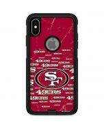 San Francisco 49ers Blast Otterbox Commuter iPhone Skin