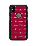 San Francisco 49ers Blitz Series Otterbox Commuter iPhone Skin