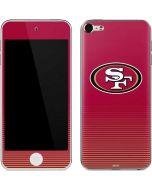 San Francisco 49ers Breakaway Apple iPod Skin