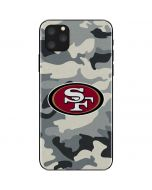 San Francisco 49ers Camo iPhone 11 Pro Max Skin