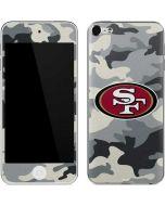 San Francisco 49ers Camo Apple iPod Skin