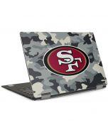 San Francisco 49ers Camo Dell XPS Skin