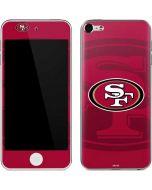 San Francisco 49ers Double Vision Apple iPod Skin